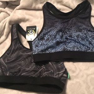 NWT Champion sports bras pack of 2